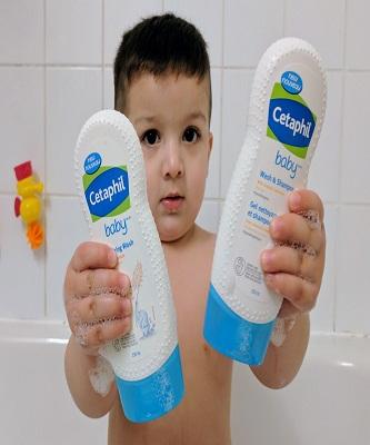 newborn baby wash
